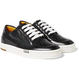 Berluti - Playtime Polished-Leather Sneakers