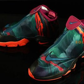 Nike - NIKE AIR ZOOM FLIGHT THE GLOVE PREMIUM GREEN ABYSS/BLACK-BRIGHT MAGENTA-TURF ORANGE