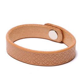 bal - BUTTERO LEATHER BANGLE