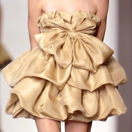 Giambattista Valli - gold short dress