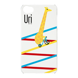 au+1collection, Airside Nippon - iPhone 4S ハードカバー/デザイン(02) designed by Airside Nippon