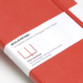 MOLESKINE - Red Cover Plain Large