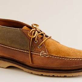 J.CREW - Red Wing for J.Crew Rugged Leather Chukka Boots