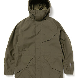 nonnative - HIKER HOODED JACKET NYLON WEATHER WITH GORE-TEX® 3L
