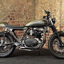 "The Pacific Motorcycle Co. - Kawasaki Z 750 "" N-Zed """