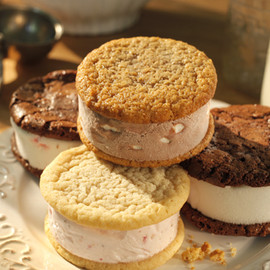 Nye's Cream Sandwiches - Ice Cream Sandwich