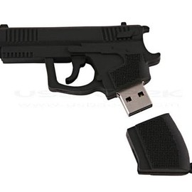 gun-shaped USB flash drive