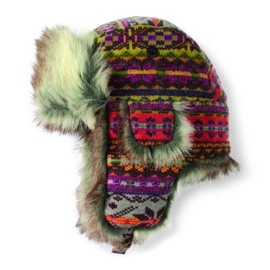 San Diego Hat(サンディエゴハット) - アメリカ発(San Diego Hat BRAND):CTH3548- Womens Ethnic Trapper CTH3548OSBRI