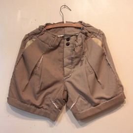 TAKAHIROMIYASHITA The SoloIst. - high waisted short.