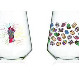 """Glass to Mouth - Glass #25 """"Endhop"""""""