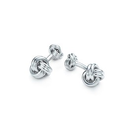 TIFFANY&Co. - Double Knot Cuff Links sterling silver