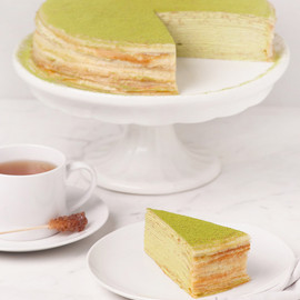 Lady M Cake Boutique - NYC - Lady M® Green Tea Mille Crêpes