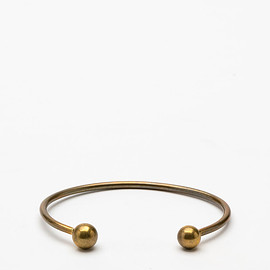 Another Feather - Pearl Cuff in Bronze