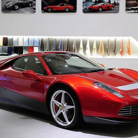 Ferrari - Ferrari SP12 EC for Eric Clapton