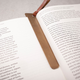Tiny Formed - Tiny metal bookmark ブックマーク
