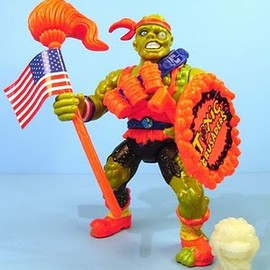 "playmates - Toxic Crusaders Junkyard Action Figure ""TOXIE"""