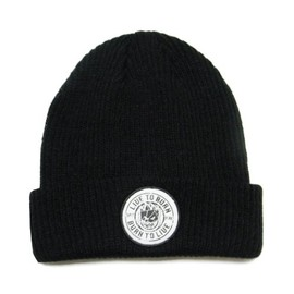 SPITFIRE - RING OF FIRE BEANIE (Black)