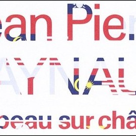 Jean Pierre Raynaud - Drapeau sur chassis