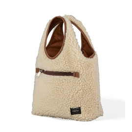 HEAD PORTER - BOA TOTE BAG (S) BEIGE