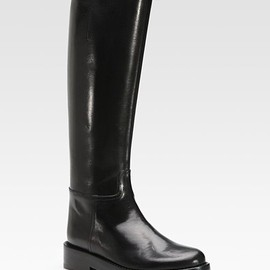 ANN DEMEULEMEESTER - Leather Riding Boots