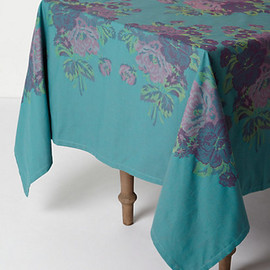 Anthropologie - Fountain Bouquet Tablecloth
