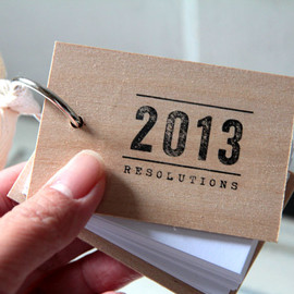 quotesandnotes - 2013 New Years Resolutions notepad