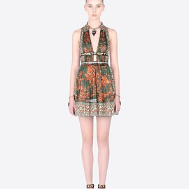 VALENTINO - SS2016 Rhinoceros print dress