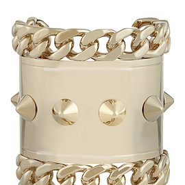 GIVENCHY - Pale gold-tone cuff