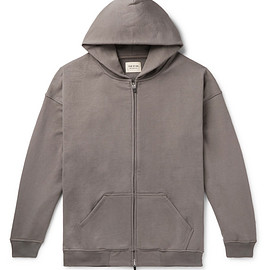 Fear of God - Oversized Loopback Cotton-Jersey Zip-Up Hoodie