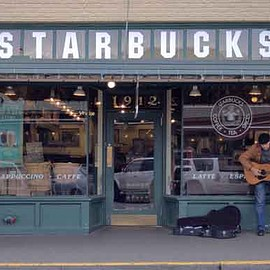Seatle - The First Starbucks Location in Pike Place Market
