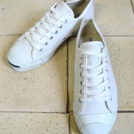 CONVERSE - 【converse】 (コンバース) / 『jack purcell』 /「dead stock」 / white / made in usa