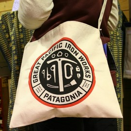 patagonia - GREAT PACIFIC IRON WORKS Canvas Bag