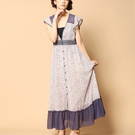 Balcony and Bed - PETIT FLOWER PRINT CHIFFON OP