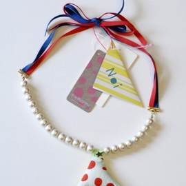 FRANKY GROW - noi Cotton Peal Necklace