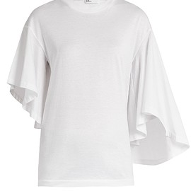 TOGA - Flared-Sleeve Cotton-Jersey T-Shirt