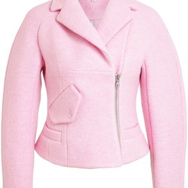 CARVEN - Wool-Blend Biker Jacket