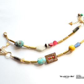 Rough'N'tumble - Vivid stone bracelet