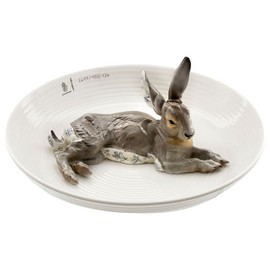 Nymphenburg - animal bowl with hare