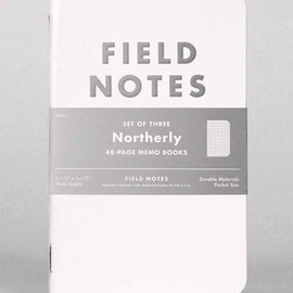 "FIELD NOTES - COLORS: ""NORTHERLY"" EDITION"