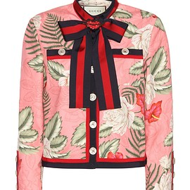 GUCCI - SS2016 Printed cotton jacket