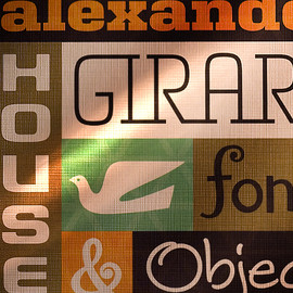 House Industries - Alexander Girard fonts