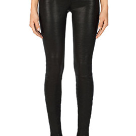 J Brand - L8001 Leather Super Skinny Pants