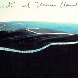Christo and Jeanne-Claude - Running Fence (1976)
