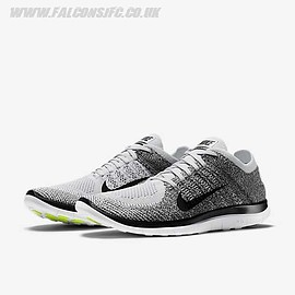 "NIKE - Free 4.0 Flyknit ""Pure Platinum"""