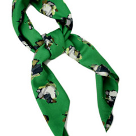 karen walker - Scarf (green)