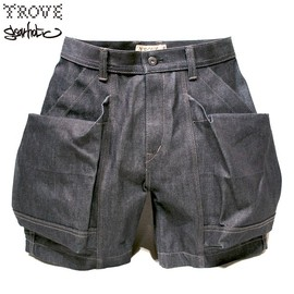 TROVE, GEAR HOLIC, 岡部文彦氏 - BIG POCKET SHORTS (DENIM)