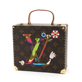 Louis Vuitton - Mini Trank Artwork by Takashi Murakami