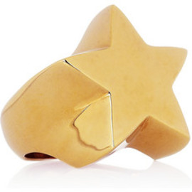 Stella McCartney - Brass star ring