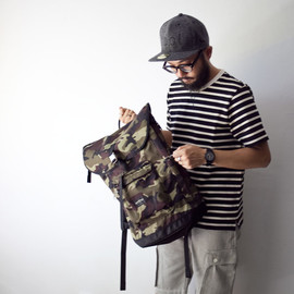 WONDER BAGGAGE - [数量限定]WONDER BAGGAGE ワンダーバゲージ BACKPACK CAMOUFLAGE バックパック カモフラージュ