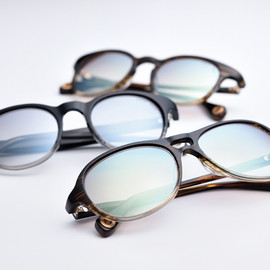 OLIVER PEOPLES for TAKAHIROMIYASHITATheSoloIst. - s.0264/nolly, s.0265/jimmy, s.0266/polly.